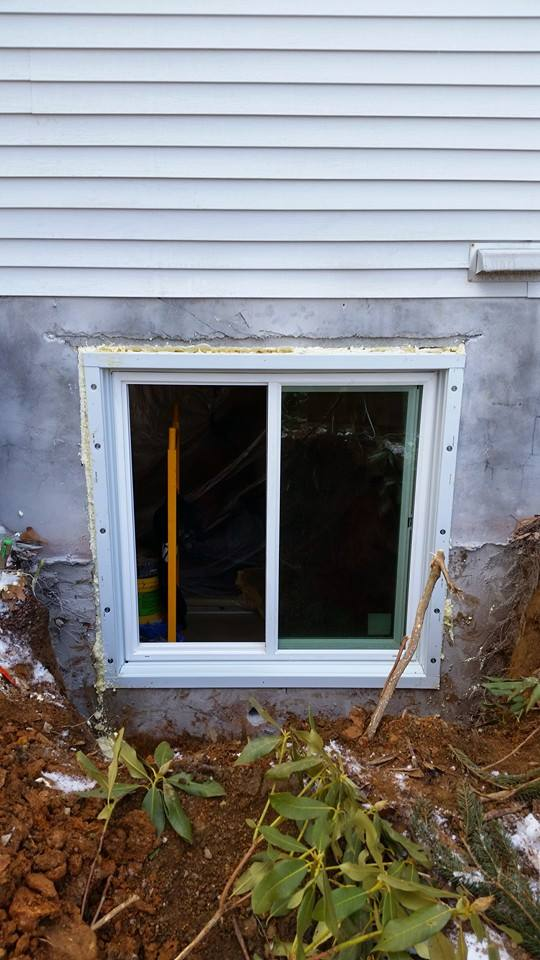Egress Window Installation In Lancaster Pa Basement