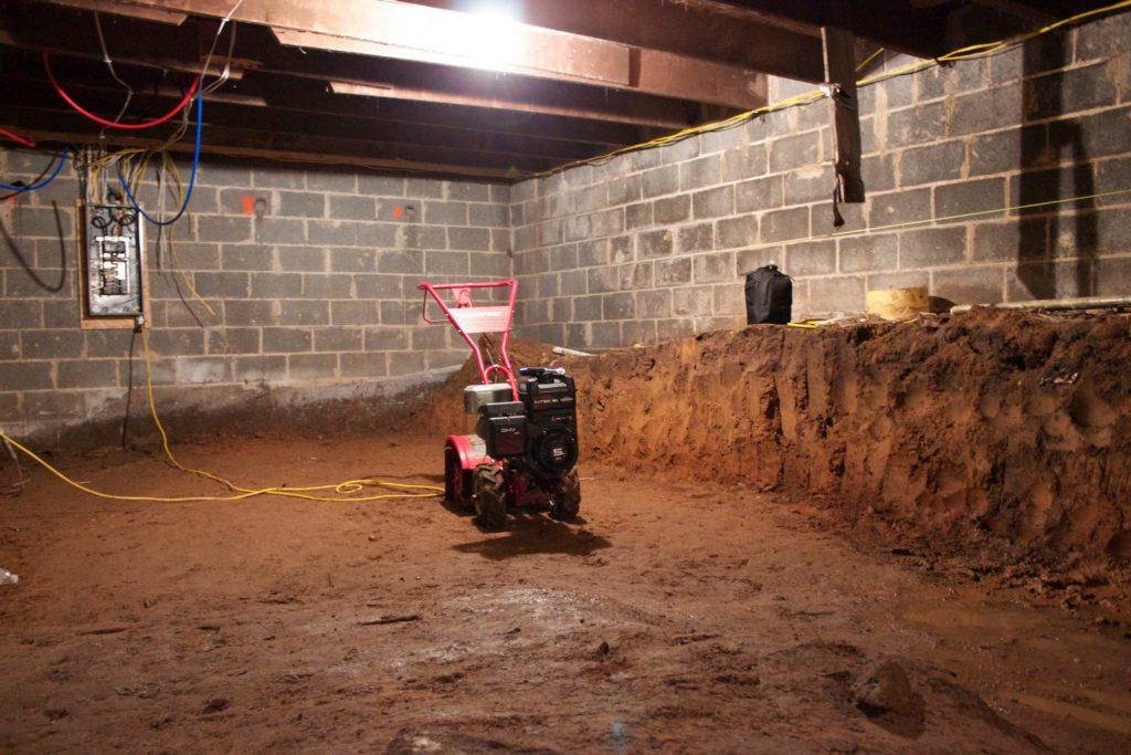 need your basement dug down basement waterproofing york pa